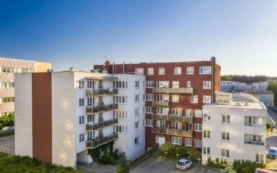 Byt 2+kk, Benešov, 82,7 m2, balkon 6,7 m2